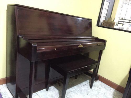 Tenemos ya a la venta este lindo piano vertical marca Wurlitzer. Este es un piano de manufactura estadounidense y esta marca tiene historial en Casa de Pianos. Han demostrado tener calidad consistente, un sonido dulce, hecho completamente de madera de alta calidad, resistente a quebraduras, polillas y que le da ese sonido suave y peculiar al piano.