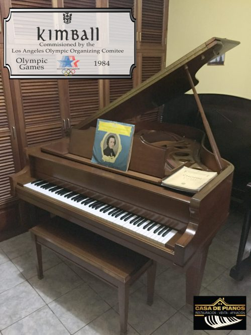 Kimball olimpiadas 1984 casa de pianos